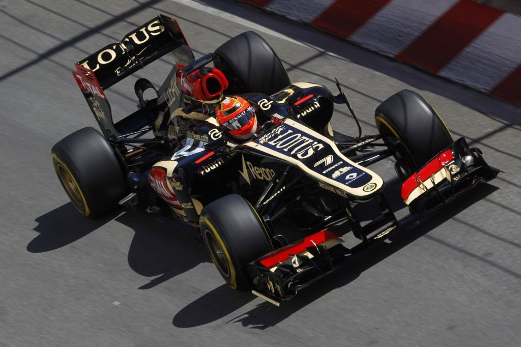 Six Lotus F1 Team race-Monaco Grand Prix6