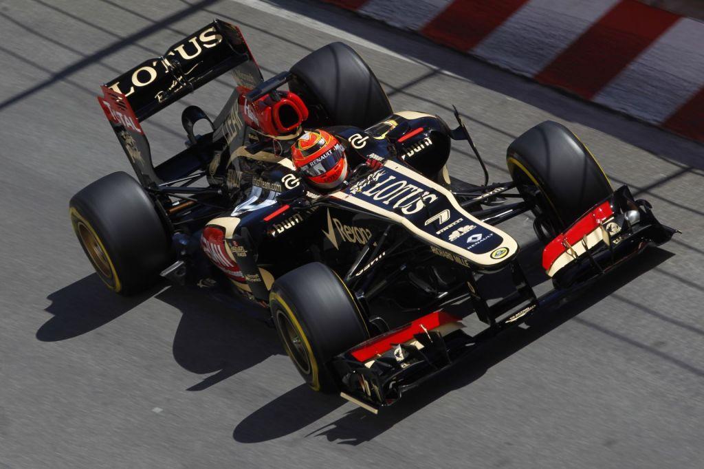 Six Lotus F1 Team race-Monaco Grand Prix6