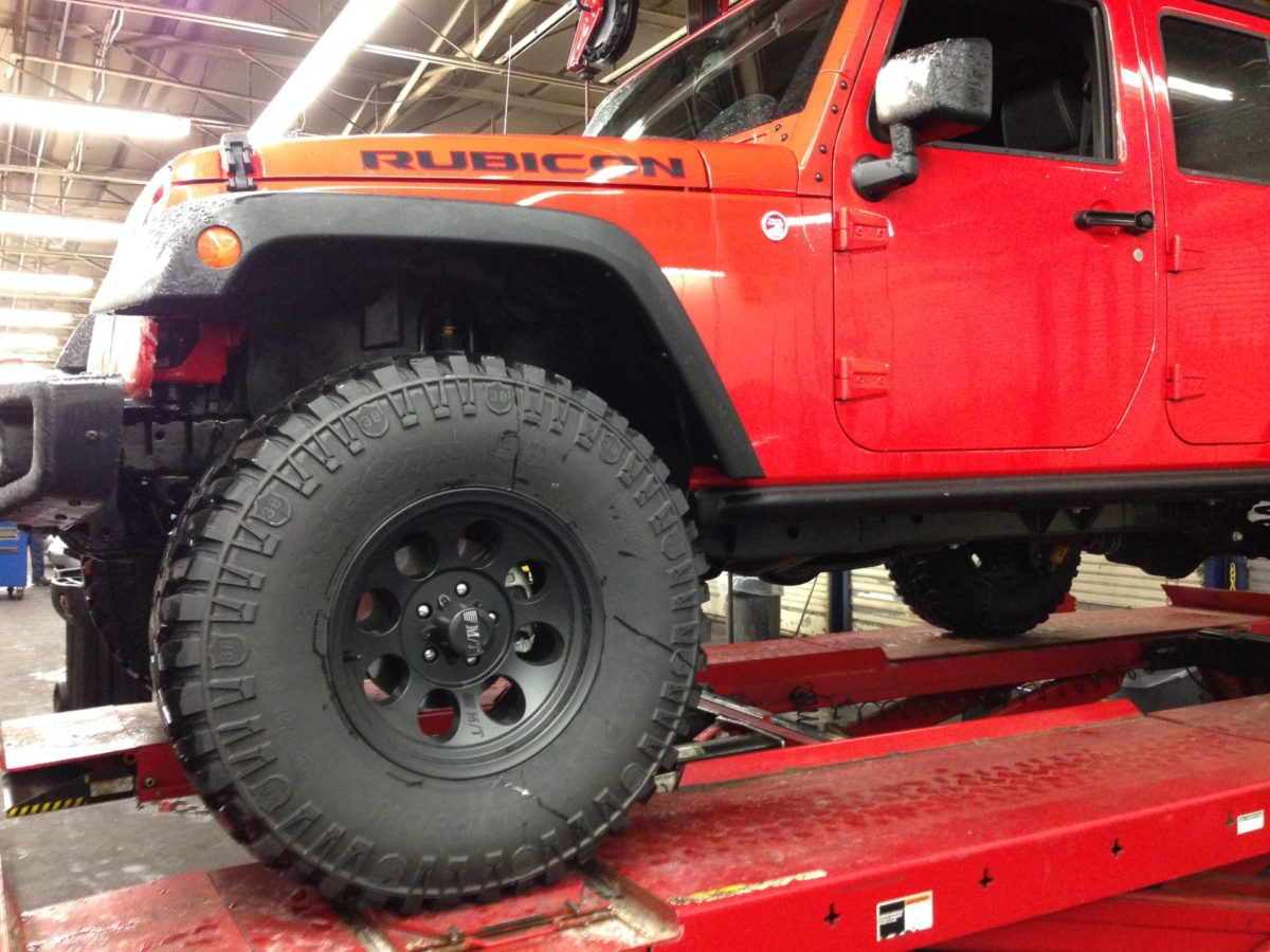 Getting An Alignment Is Imperative When Installing A Lift.