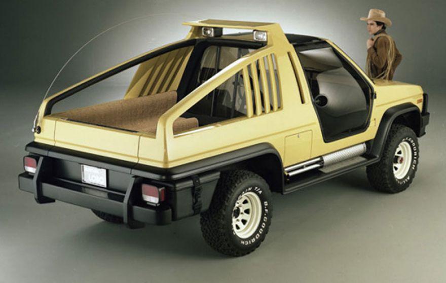 Ford's 1981 Bronco Concept - Montana Lobo - 4WAAM