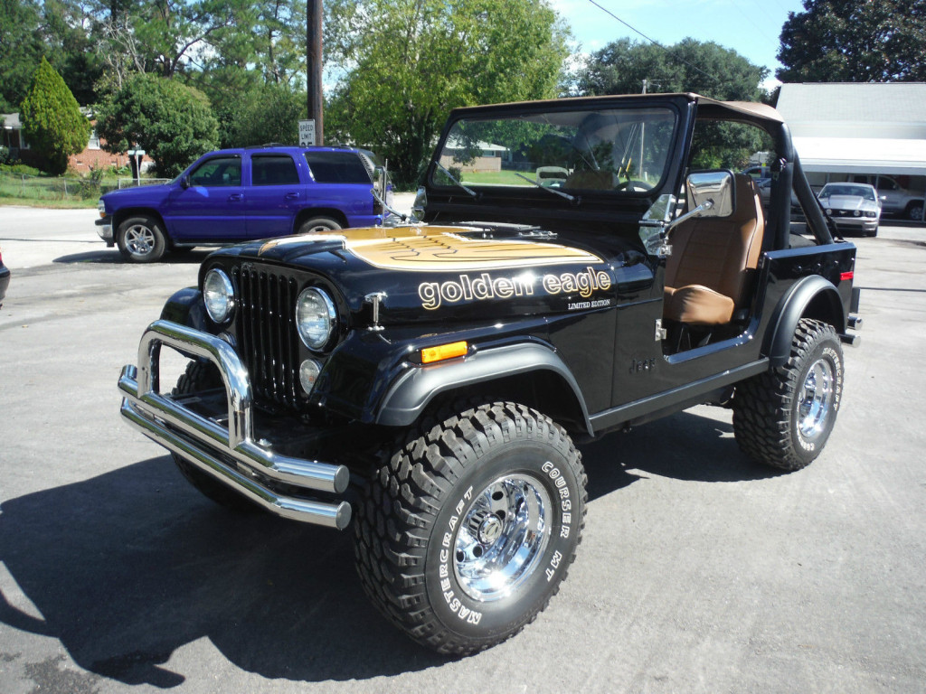4WAAM-CJ7-Golden Eagle-eBay
