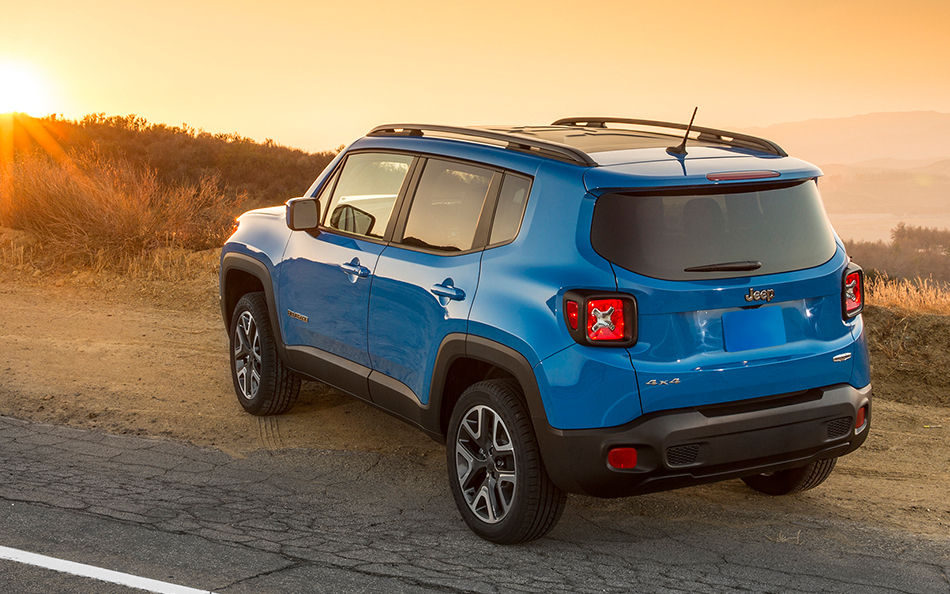 4WAAM jeep renegade Rear we drive the jeep renegade and we didn't hate it 4waam Yellow Jeep Renegade Accessories at bayanpartner.co