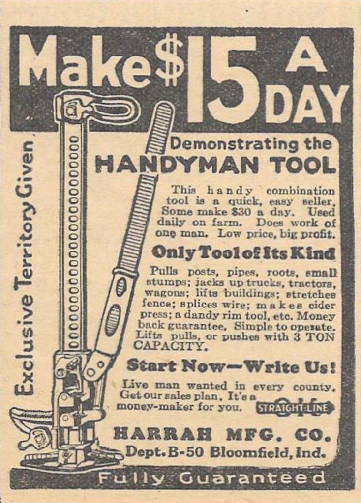 4WAAM-Handy Man Ad