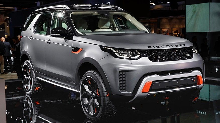 Land Rover Discovery Sport >> Land Rover Discovery SVX Concept - 4WAAM