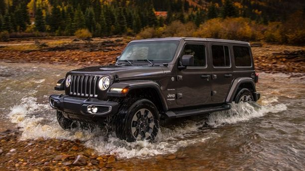 The All New 2018 Jeep Wrangler Jl 4waam