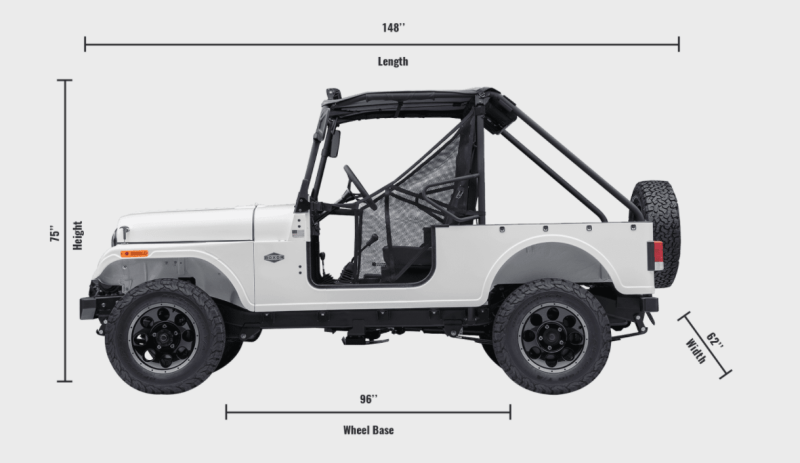 Here it is the mahindra roxor 4waam for Motor city towing detroit